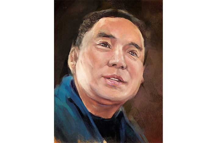 Chinese businessman Guo Wengui. Photo: Niu Chenming/Caixin