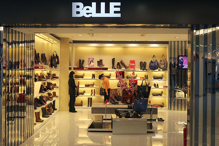 Hong Kong-listed Belle International Holdings Ltd. has announced plans for a privatization valued at $7 billion, which will make it the biggest in the city's history.Photo: Visual China