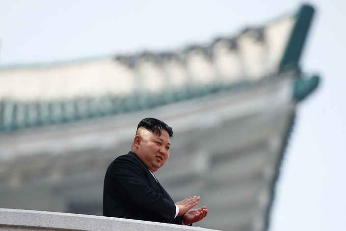 North Korean leader Kim Jong Un says North Korea will discontinue tests of nuclear weapons and inter-continental ballistic missiles.
