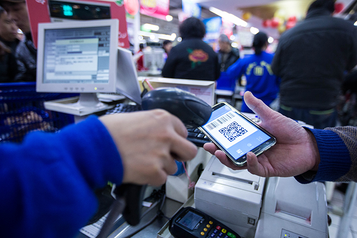 Ant Financial Services Group, which operates Alipay, is partnering with U.S. payment solutions firm First Data Corp., which will offer the Chinese platform access to its 4 million clients in the U.S.  Photo: Visual China