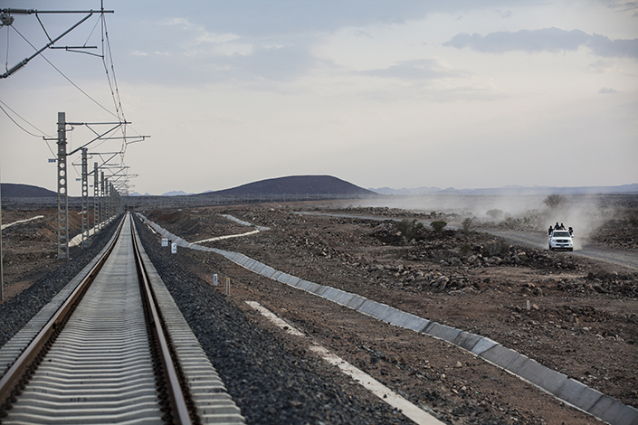The Addis Ababa-Djibouti railway, the longest electric railway in Africa, officially opened on Oct. 5, 2016. Africa's first cross-border electric railway was built by Chinese enterprises, and the opening of the railway marks a significant milestone in the development of Ethiopia and Djibouti. Photo: IC
