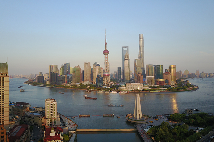 A view of downtown Shanghai. The city launched a campaign to clamp down on commercial properties being converted into residential apartments. Photo: Visual China