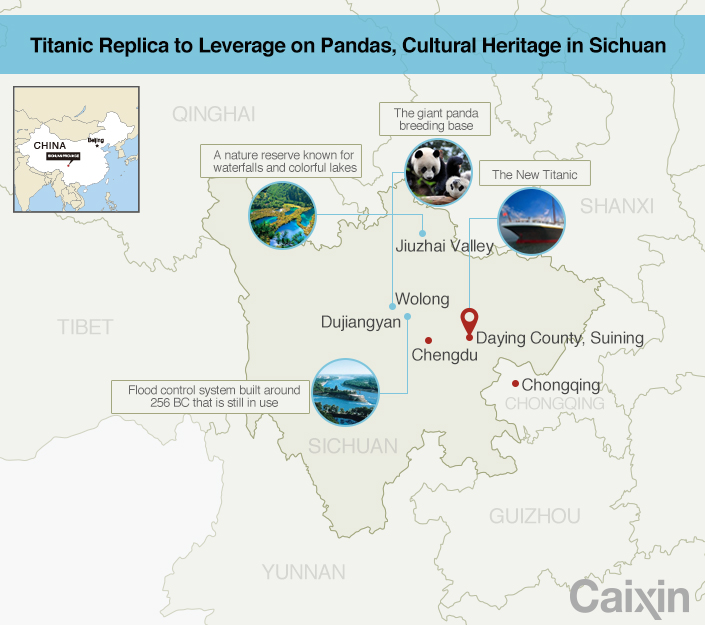 Can China's Titanic Put an Obscure County on the World