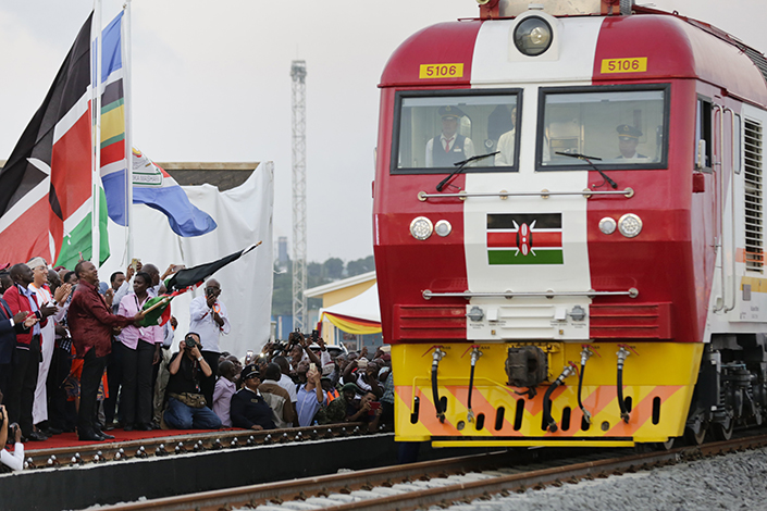 The Mombasa to Nairobi railway opens on May 31. The 480-kilometer, Chinese-built railway could reshape East Africa's economy. Photo: IC