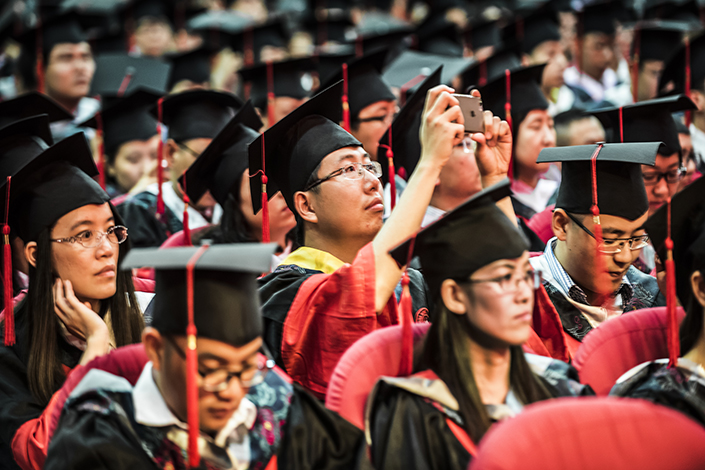 China's northeast is facing an exodus of talent as graduates from the rust belt provinces opt to look for work outside the region. Photo: Visual China
