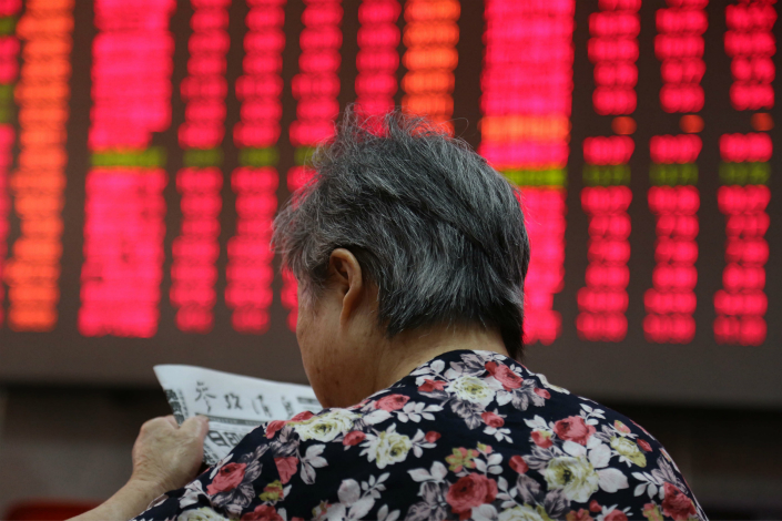 The inclusion of A-shares in MSCI's widely traded benchmark indexes is a milestone in China's financial market, but only 5% of the market capitalization of the entire A-share universe will be added for now. Photo: IC