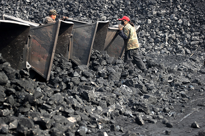 Thermal coal prices have risen for two straight weeks as government measures to reduce supply have taken effect.  Photo: IC