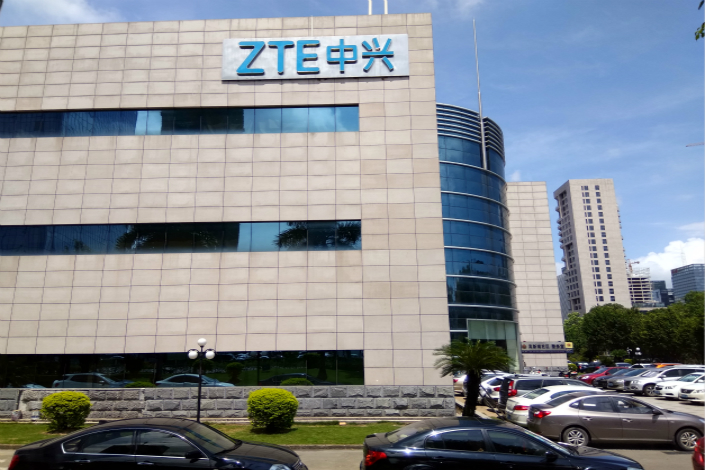 Shares of ZTE Corp. jumped on Monday after the networking-equipment maker announced a new deal that could see it ultimately replace Nokia as the main supplier of fiber-optic backbone networking equipment to Thailand carrier True Corp. Photo: IC