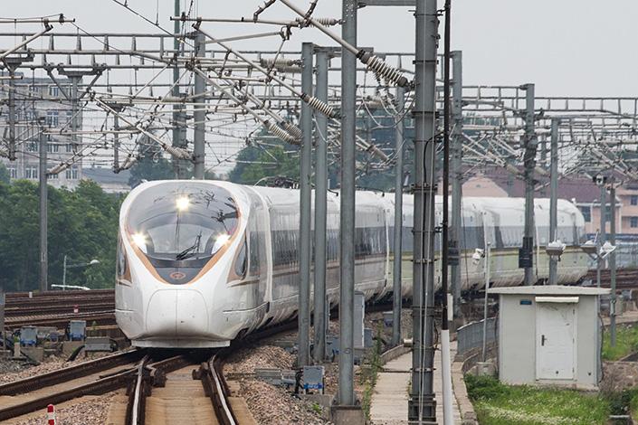China's new high-speed train