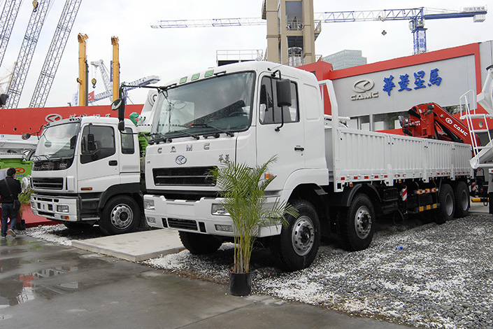 Textile equipment maker China Hi-Tech Group Corp. has spent 615 million yuan on a 15% stake in Anhui-based Hualing Xingma Automobile (Group) Co. Ltd. (CAMC), which makes cargo trucks, tractors and tippers. The deal is the latest in a series involving  the country's machinery manufacturing sector. Photo: IC