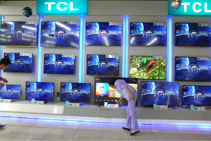 TV giant TCL says sale to Tencent aims to draw on complementary strengths in hardware and services. Photo: IC