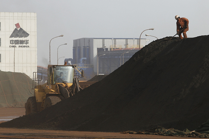 Shenhua Group Corp. Ltd., China's largest coal producer, is believed to be in talks with power generator China Guodian Corp. to create a 1.8-trillion-yuan energy giant. Photo: Visual China