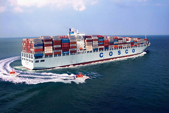 COSCO Shipping Holdings Co. Ltd. will take 90.1% ownership of Orient Overseas (International) Ltd. (OOIL), while Shanghai International Port Group Co. Ltd. will get the rest in a $6.3 billion deal. Photo: IC