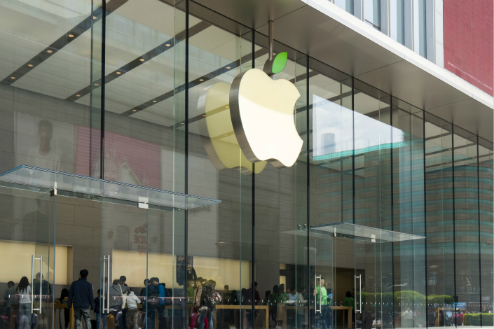 Apple Inc. will become the first foreign company to adjust its data-storage method since China's new cybersecurity law took effect, as the company plans to build its first data center in the country in a partnership with Guizhou province. Photo: Visual China