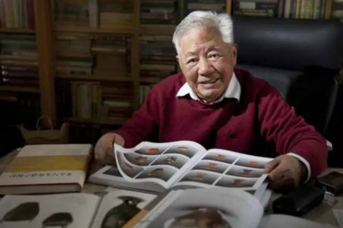 Archaeologist Zhang Zhongpei was a tireless advocate for preserving China's cultural heritage. He died on July 5 at the age of 83. Photo: Palace Museum