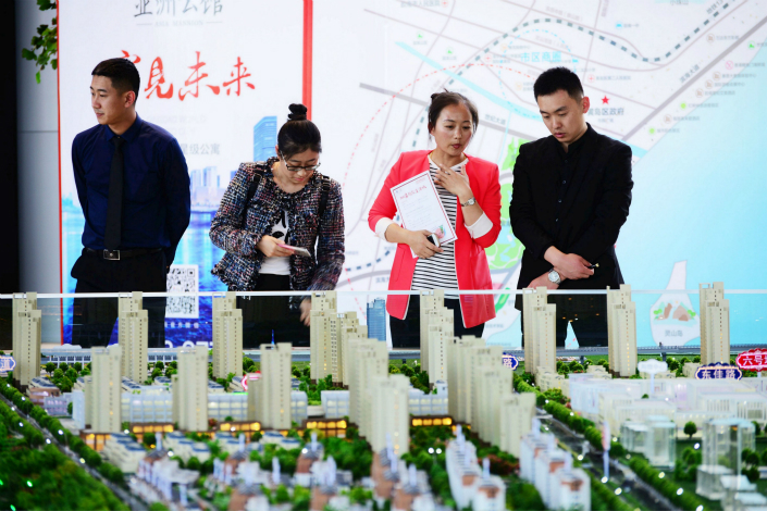 Shanghai will now have notary officials oversee lotteries for new properties coming onto the market — part of the city's efforts to curb speculation. Photo: IC