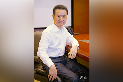 Wang Jianlin, Chairman of Dalian Wanda Group. Photo: Yang Yifan/Caixin