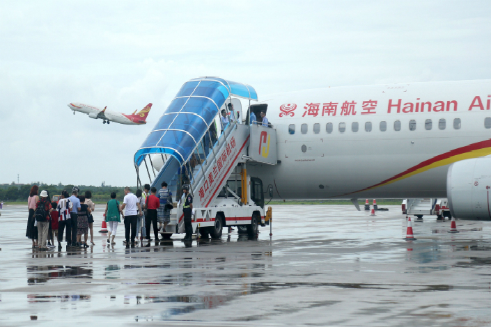 HNA Group, the parent of Hainan Airlines, has seen banks that once had supported its overseas shopping spree stop extending it new loans. Photo: Visual China