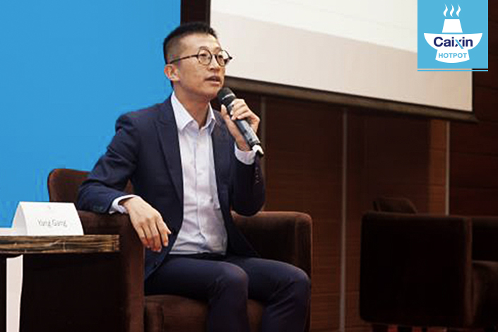Martin Yang is the sustainable development manager of Beijing Gender, one of the oldest LGBT nongovernmental organizations in China. Photo: Beijing Gender