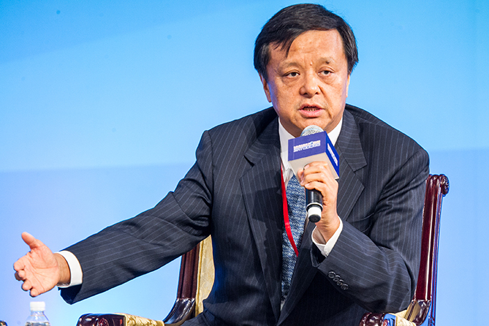 Hong Kong Exchanges and Clearing (HKEx) has proposed setting up a third trading platform that some worry will become a breeding ground for shell companies. Above, HKEx CEO Charles Li attends an investment forum in Shanghai on June 20. Photo: IC
