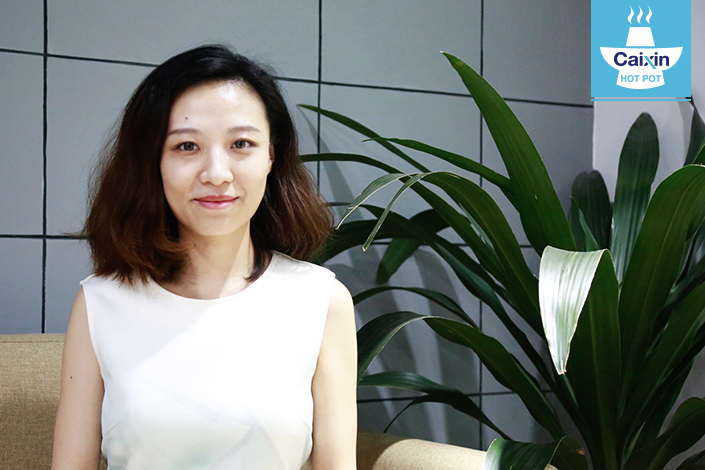 Xiyu Zhang, general manager at HNA Innohouse, says that although the number of startups dropped year-on-year in the third quarter of 2016, the number of high-quality startups remained the same. Liu Xiao/Caixin
