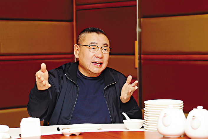 Joseph Lau (above), who owns 74.99% of property developer Chinese Estates, is known for his close friendship with China Evergrande Group Chairman Hui Ka Yan. Photo: IC