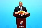 习近平会见南非总统祖马
