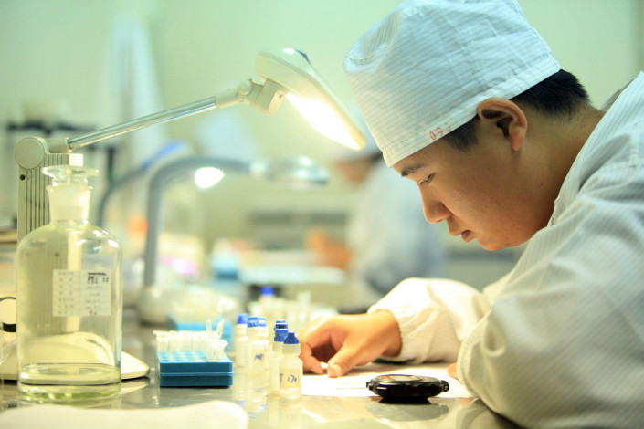 Biotech drug developer 3SBio Inc. will pay $290 million for the contract development and manufacturing business of Ontario-based Therapure Biopharma Inc. Photo: Visual China