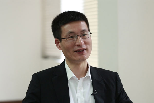 Lu Lei, deputy administrator of the State Administration of Foreign Exchange. File Photo