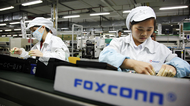 The investment in Bradmer is part of Foxconn's broader strategy in the financial sector, a company spokesperson said. Photo: Visual China