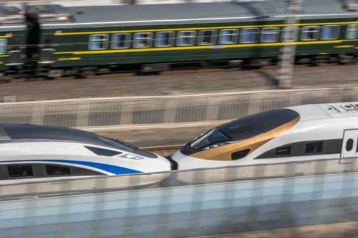 China's first privately owned high-speed railway, announced only last week, will not have its ticket prices set by China Railway Corp., as is the norm for such private projects. Photo: Visual China