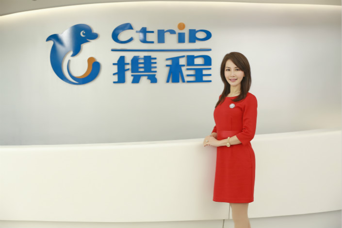 Ctrip CEO Jane Jie Sun. Photo: Ctrip