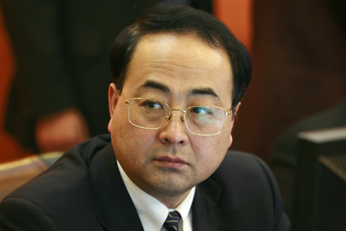 Top staff at China Railway's Zhengzhou bureau have been replaced, and Sun Yongcai (pictured) is the new president and party secretary at CRRC. Photo: Visual China