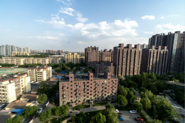 While the average existing home price in Beijing was down 5% in the third quarter compared to the previous quarter, according to the survey, it was still up on an annual basis compared to the same period in 2016. Photo: Visual China