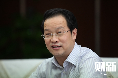 Chinese insurers' total assets had grown to 16 trillion yuan ($2.42 trillion) as of April, up from 6 trillion yuan in 2011, when the now disgraced Xiang Junbo (above) took over the China Insurance Regulatory Commission, according to commission statistics. Photo: Caixin