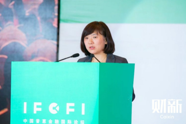 Jane Xing, deputy director and head of private sector engagement at the Bill & Melinda Gates Foundation's China Office.