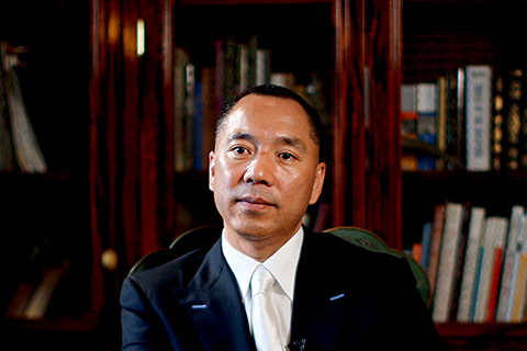 Guo Wengui. Photo: Visual China