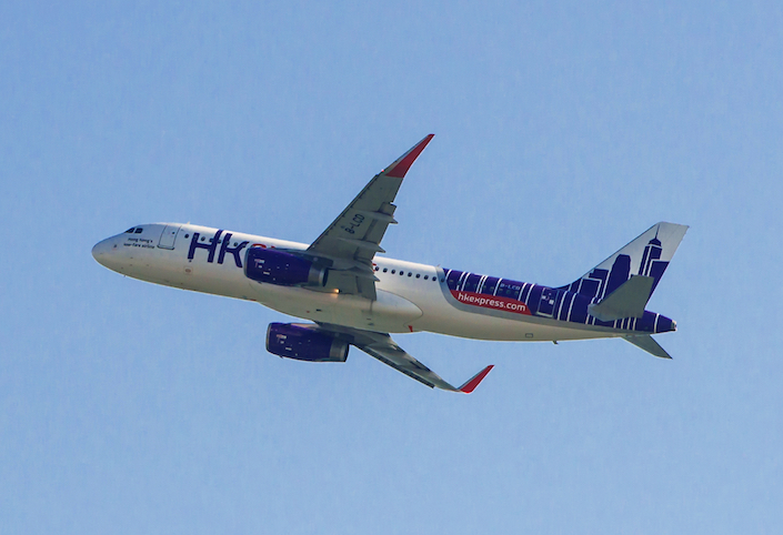 The 18 canceled flights were between HK Express' home base in Hong Kong and Asian destinations such as Seoul, South Korea, and Osaka, Japan. They affected about 2,000 people. Photo: IC