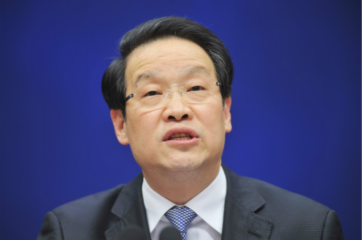 Following the crackdown on universal life insurance products and the fall of the industry regulation chief Xiang Junbo (pictured) on corruption charges, the sector is waiting to see whether liberalizing measures Xiang introduced will be rolled back. Photo: Visual China