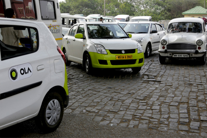 Ola says it is also in talks with investors other than Tencent for a possible $1 billion in additional funding, as it seeks to spread its influence across multiple industries in India this year. Photo: Visual China