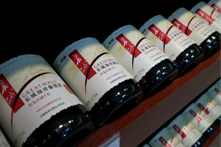 While wine sales grew by more than 20% annually between 2006 and 2012, growth has either slowed or increased marginally year-on-year since then. Photo: Visual China