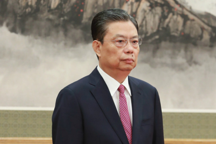 New Central Commission for Discipline Inspection head Zhao Leji rose through the party ranks working in Northwest China's Qinghai and Shaanxi provinces, and has served on the Politburo since 2012. Photo: China News Service