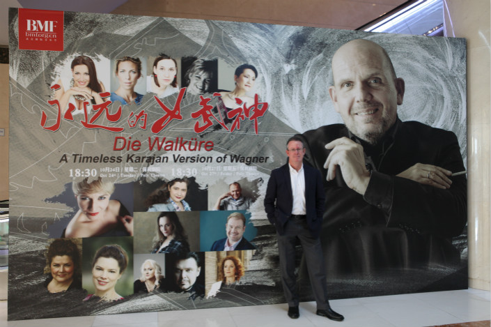 Michael Macleod, chief executive of the Hong Kong Philharmonic Orchestra, has been instrumental in revamping the body since taking the helm in 2011. Photo: Poornima Weerasekara