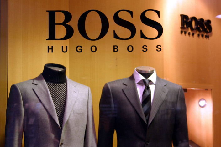 In the case of German fashion company Hugo Boss, China's trademark authorities have upheld the registration of BOSSsunwen, a remarkably similar clothing label created by a Chinese company. The decision overlooks evidence that the BOSSsunwen trademark is likely to be confused with the older, well-known, BOSS Hugo Boss trademark. Photo: IC