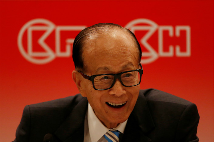 CK Asset Holdings Ltd., controlled by 89-year-old Hong Kong billionaire Li Ka-shing, plans to sell The Center, the city's fifth-tallest building, to C.H.M.T. Peaceful Development Asia Property Ltd. for HK$40.2 billion ($5.15 billion). Photo: Visual China