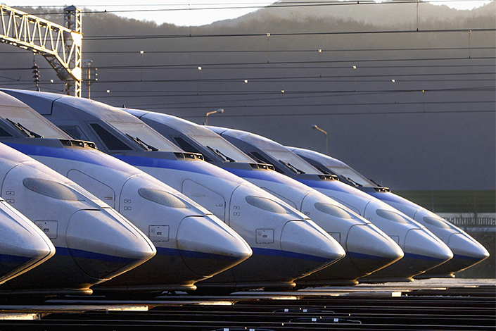 CRRC Corp., China's leading train-maker, hopes to develop a new source of revenue with high-speed freight trains as China's logistics industry grows more modern. Photo: Visual China