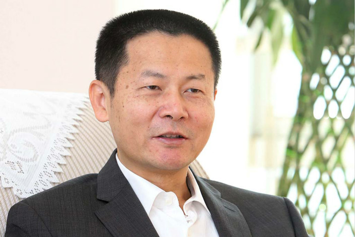 Shanghai Stock Exchange Chairman Wu Qing says the bourse is studying the possibility of a Shanghai-London Stock Connect, but the proposal has no timetable. Photo: Visual China