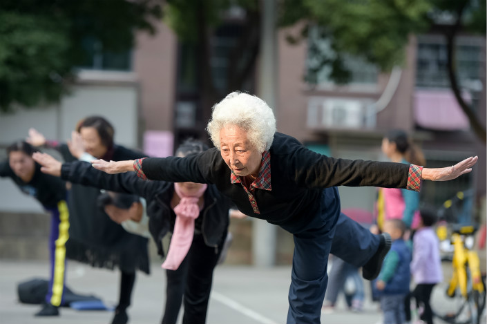 China's securities regulator has issued rules for retirement funds that aim to balance the goals of improving investment returns and controlling risks, as the country grapples with an aging population and a long-running pension deficit. Photo: Visual China
