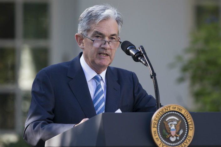 If Jerome Powell is confirmed as the new chairman of the U.S. Federal Reserve, the effect on China will be limited at most, according to sources within the People's Bank of China. Photo: IC