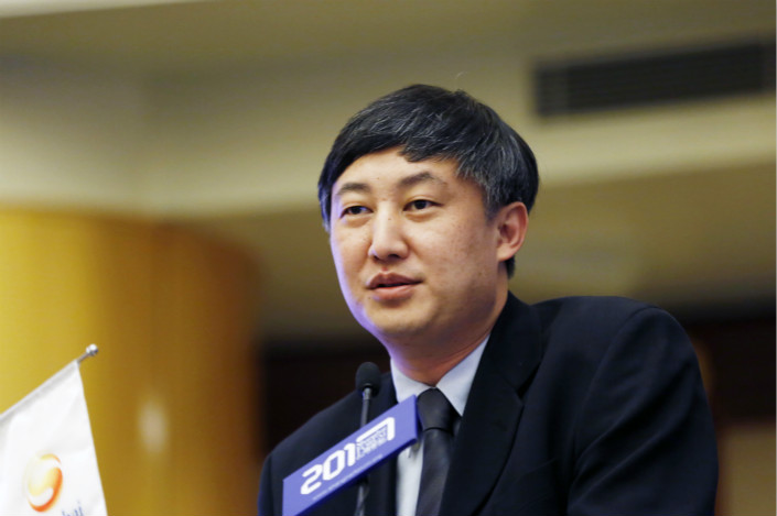 Regulators have been taking a tolerant stance on fintech firms to encourage innovation and improve competitiveness in the financial system, said Sun Guofeng (pictured), head of the People's Bank of China finance research institute. Although banks dominate China's financial system, the actions of some large fintech firms could impact its health. Photo: IC